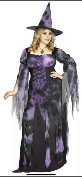 Women#x27;s Starlight Witch Costume Large 12 14 NEW $28.99