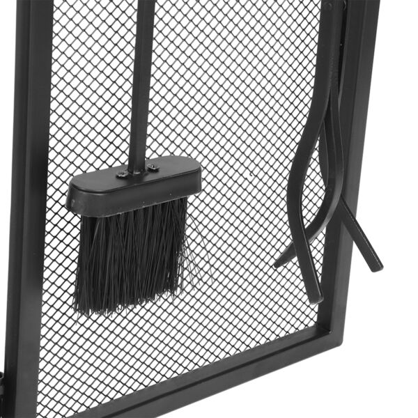 Fireplace Screens Strong Magnetic Wrought Iron Steel Fireplace Screen For Master