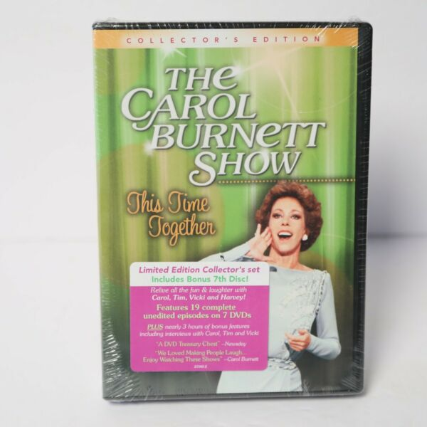 THE CAROL BURNETT SHOW This Time Together 6 Disc COLLECTOR's EDITION SEALED