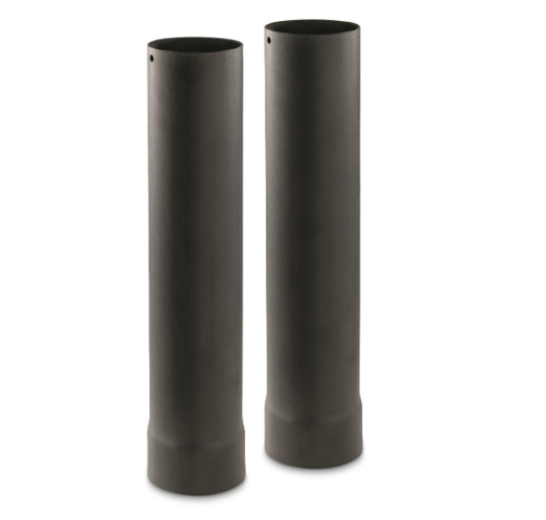 Guide Gear Outdoor Wood Stove Pipe Extensions 2 Pack Standard Size Compatible $39.30