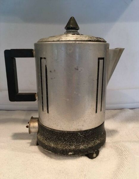 Vintage Electric Percolator Coffee Pot Westinghouse working