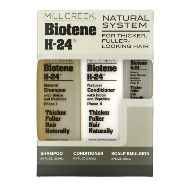 Mill Creek Natural System 3 Piece Kit Cruelty Free $34.18
