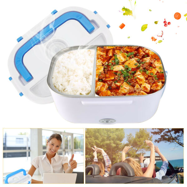 Electronic Heating Lunch Box Food Warmer Portable Travel Heater Container 12V $17.88