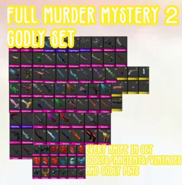 MURDER MYSTERY 2 FULL SMALL SET FAST SHIPPING $16.90