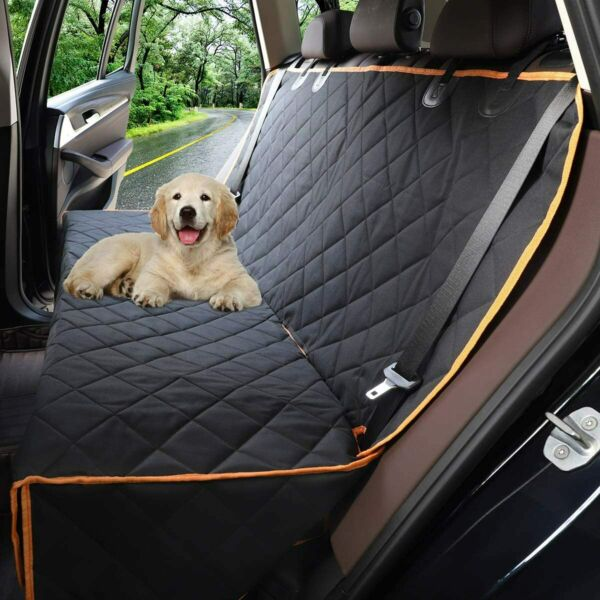 Dog Seat Cover Car Seat Cover for Pets 100% Waterproof Pet Seat Cover Hammock $22.29