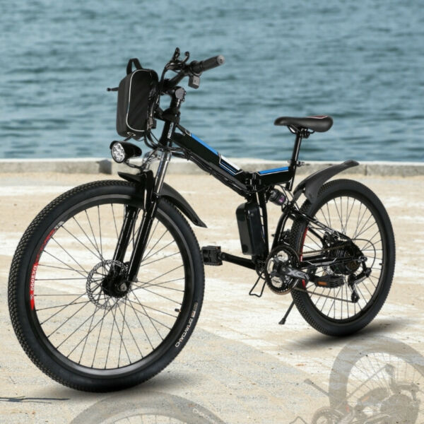 Electric Bike for Adults Folding Electric Mountain Bicycle 26 inch Best for You $745.99