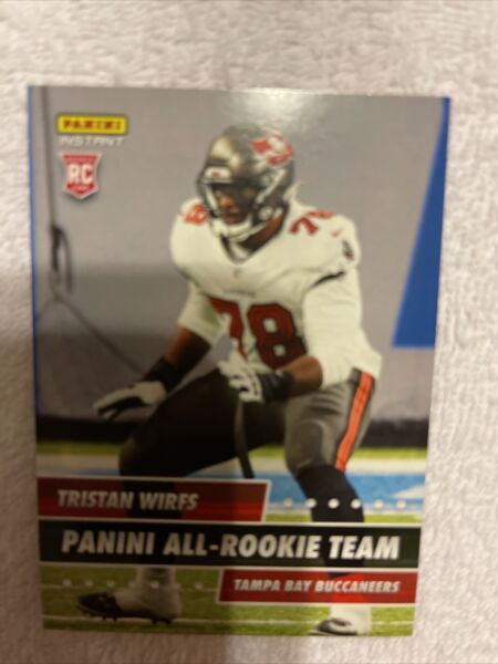 2020 Panini Instant TRISTAN WIRFS TAMPA BAY BUCCANEERS RC All Rookie Team 648 $1.95