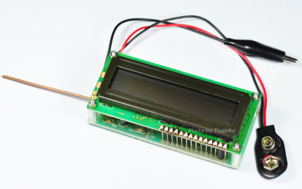 0Hz to 50Mhz Frequency Counter Module Kit LCD display Automatic Ranges