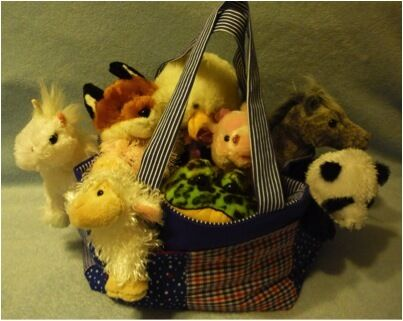 Webkinz Ty Beanie Baby Toy Carrier Tote Pattern $4.99