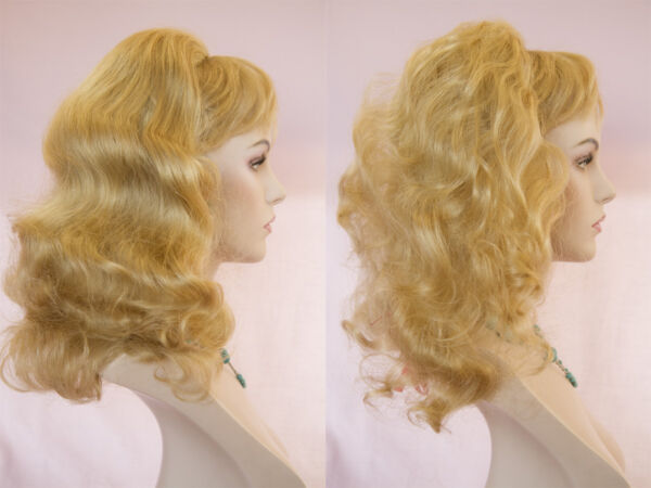 Reversible Fall 20 in Long Straight Human Premium Hair Pieces