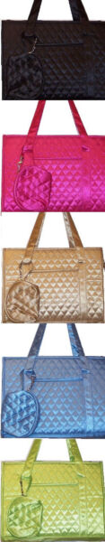CLASSY SATIN DESIGNER QUILTED PET CARRIER $23.00