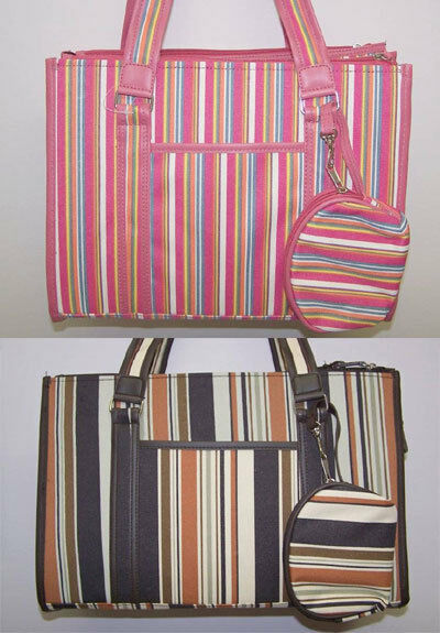 STRIPED UPSCALE DURABLE DESIGNER PET CARRIER CLEARANCE $19.95
