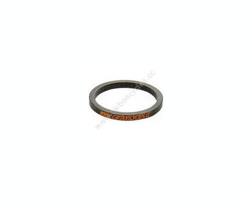 eXotic Carbon 3mm Headset Spacer For Forks With 1.1 8 inch Diameter Steerer Tube $6.99