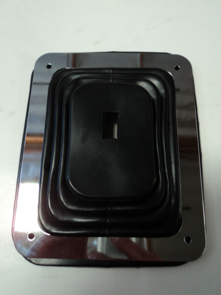 Hurst Rubber Shifter Boot With Chrome Plate 5 58