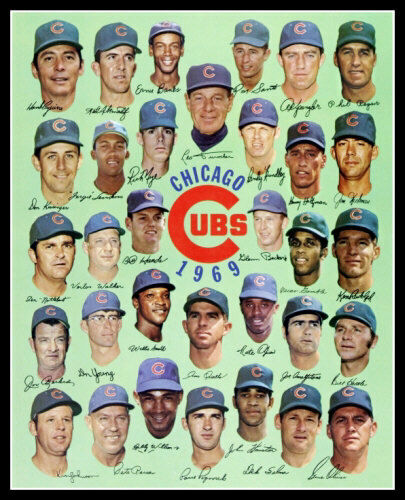 1969 Chicago Cubs Team Photo 8X10 - Buy Any 2 Get 1 FREE