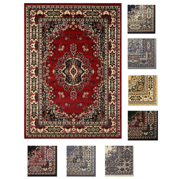 Large Traditional 8x11 Oriental Area Rug Persien Style Carpet Approx 7#x27;8quot;x10#x27;8quot;