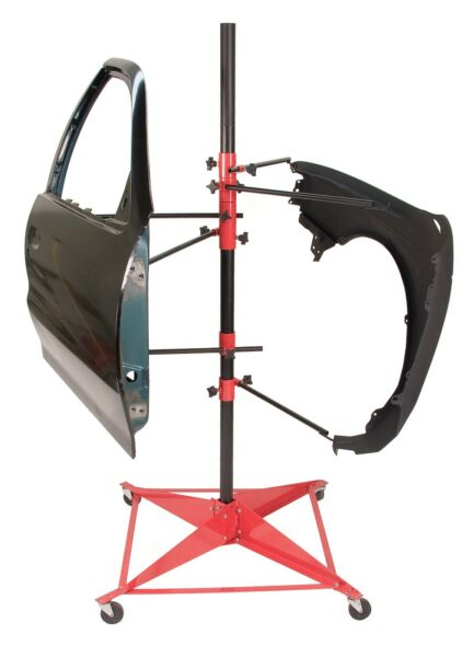 Steck Adjustable Panel Tree for Hoods and Doors 35900 Auto Body Paint Stand