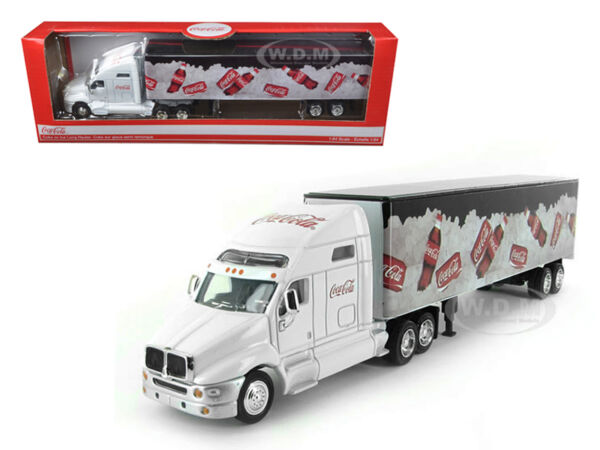 COCA COLA ON ICE TRACTOR TRAILER 1 64 DIECAST MODEL BY MCC 434618 $28.99