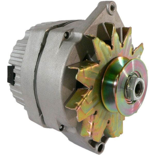 NEW ALTERNATOR 1 WIRE 63 AMP 10SI w PULLEY for 5 8 Inch Wide Belt TRACTOR $73.74