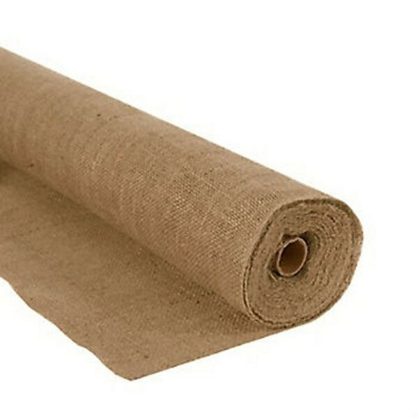 60quot; Wide Burlap Roll 10oz 5 Yard Length