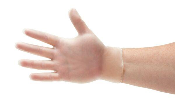 Vinyl Powder-Free Medical Exam Gloves (Latex Free) Small Medium Large