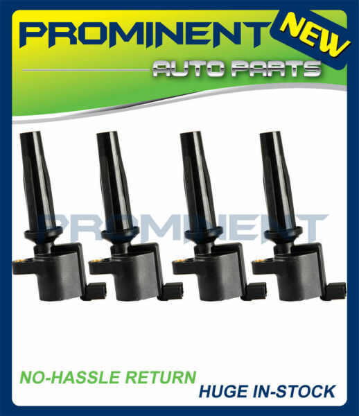 New Set 4 Ignition Coil For Ford Mazda Transit Focus 2.0L 2.3L FD505 DG507 DG541