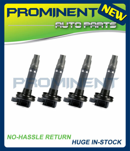 Set of 4 Ignition Coil For Ford Edge Taurus Mazda  Lincoln MKS MKK MKT UF553