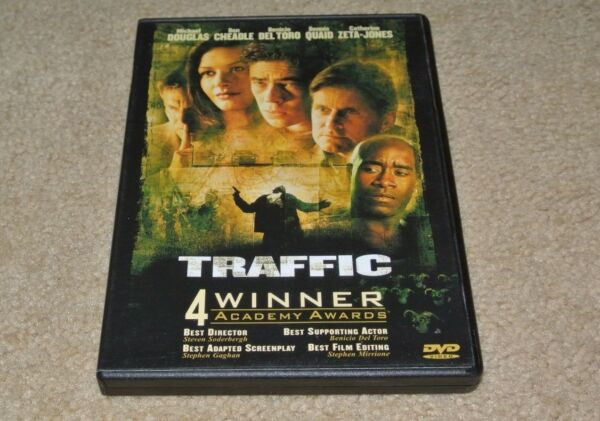 dVd TRAFFIC Michael Douglas Catherine Zeta Jones Benicio Del Toro 2000