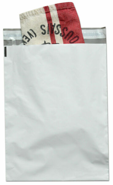 Poly Mailers Plastic Envelopes Shipping Bags 2.5 Mil White Premium