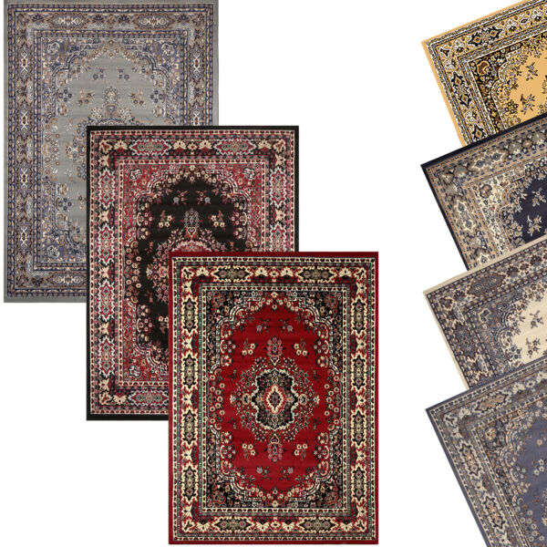Traditional Oriental Medallion Area Rug Persien Style Carpet Runner Mat AllSizes $59.99