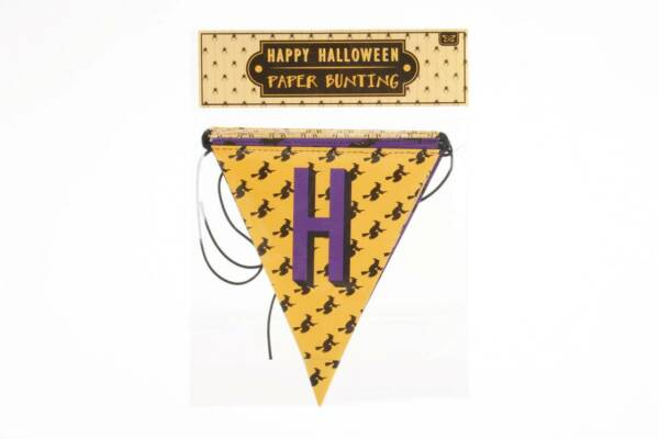 Double Sided Halloween Bunting Halloween Party Decoration Halloween Garland