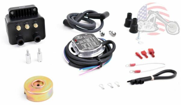 Ultima Single Fire Programmable Ignition Coil Kit Harley Evo Big Twin XL 70 03 $185.98