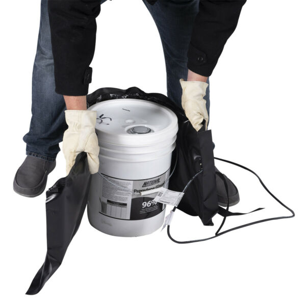 Pail Heater - Bucket Heater - Powerblanket BH05-PRO 5 Gal Pail Heating Blanket