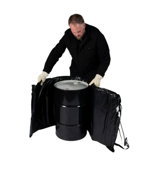 Drum Heater - Barrel Heater - Powerblanket BH15-PRO - 15 Gallon Drum Heater