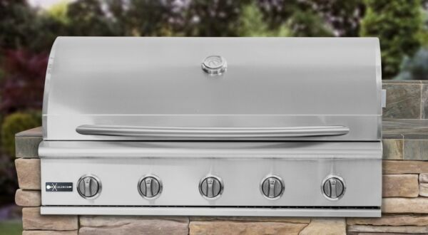 EXCALIBUR 40 INCH 5 BURNER BUILT IN GRILL IN NATURAL GAS  #GG40-NG