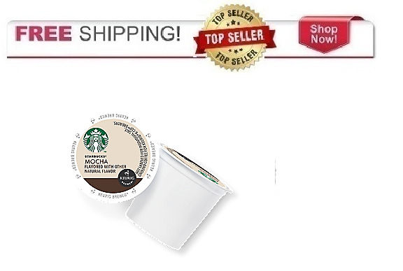 FRESH Starbucks MOCHA Keurig K-cups Coffee PICK THE SIZE Ships FREE