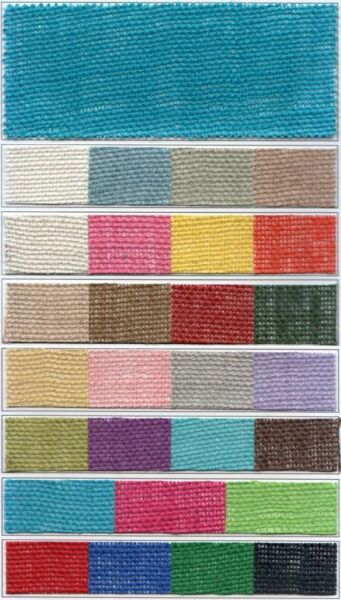 Colored Burlap 48quot; wide 8.5oz 30 Foot Roll