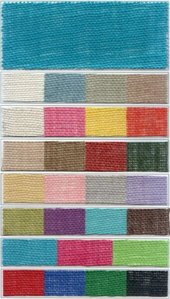 Colored Burlap 48quot; wide 8.5oz 105 Foot Roll