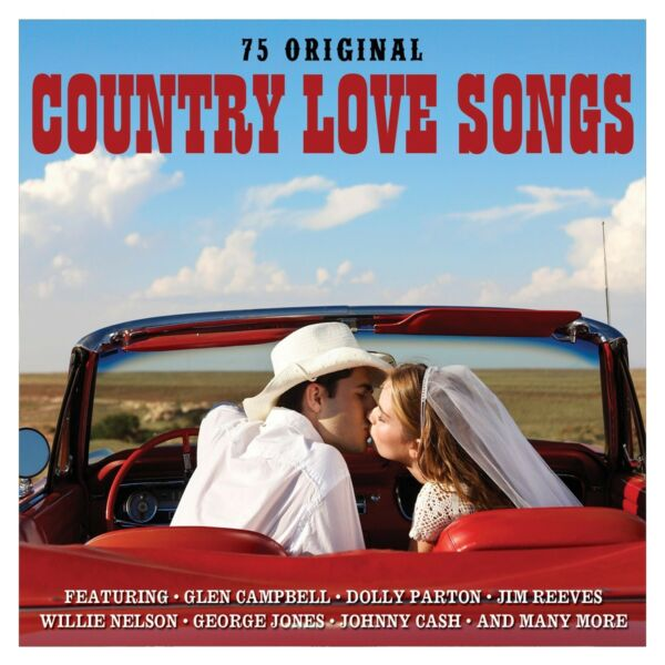 Country Love Songs VARIOUS ARTISTS Best Of 75 Classics ESSENTIAL Music NEW 3 CD $8.99