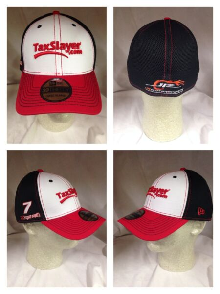 Regan Smith 7 Dale Earnhardt Jr Motorsports New Era 39Thirty Cap Hat Taxslayer
