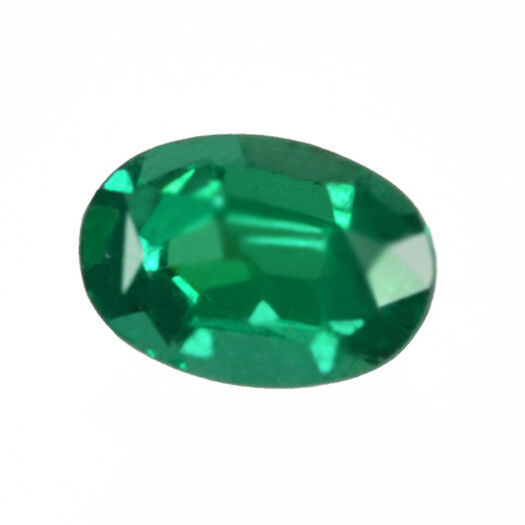 Certified 2.74ct Zambia Natural Emerald Oval Loose ~7 x 10 mm Gemstone 109_VIDEO
