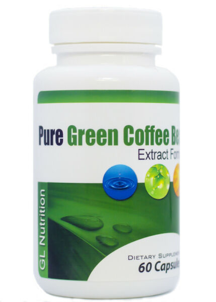 Pure Green Coffee Bean Extract  All-Natural Weight Loss Formula for Men