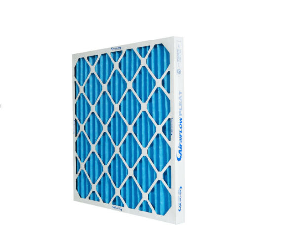 16x25x1 Merv 8 Rated Pleated HVAC Furnace Air Filters. Made in USA (12 pack)