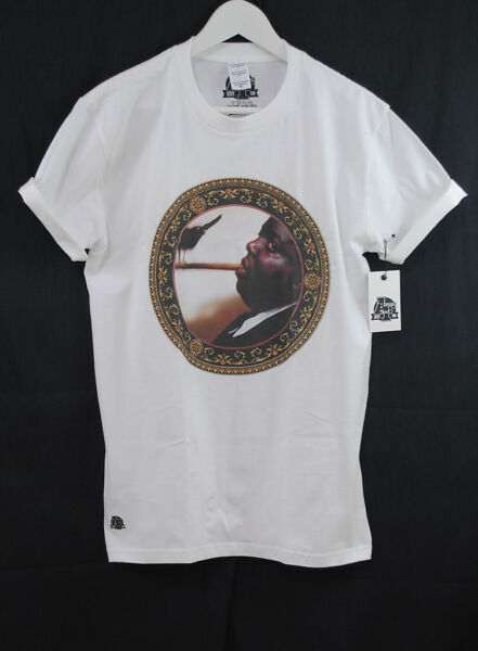 ACTUAL FACT NOTORIOUS BIG BIGGIE BIRD WREATH HIP HOP PREMIUM TEE T SHIRT