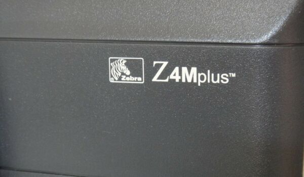 Zebra Z4M Plus Direct ThermalThermal Transfer Printer Network - Z4M00-3001-0130