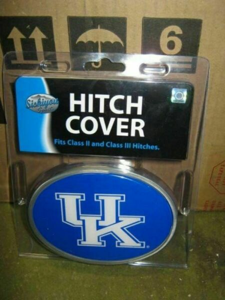 Kentucky Wildcats NCAA Plastic amp; Metal SUV Truck Trailer 2quot; Hitch Cover $22.99
