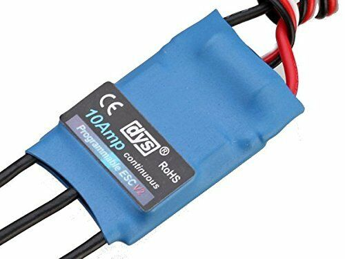 DYS 10A 2-4S Brushless Speed Controller ESC SimonK Firmware Multirotor Quad Hex