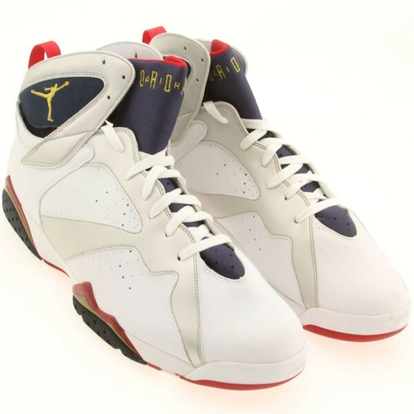 US sz 18.0 Air Jordan 7 VII Retro Olympic Edition 2004 raptor bordeaux