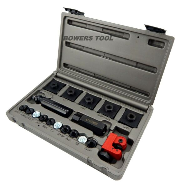 Cal Van Master In Line Double amp; Bubble Flaring Tool Set w Tube Cutter 165 $59.99