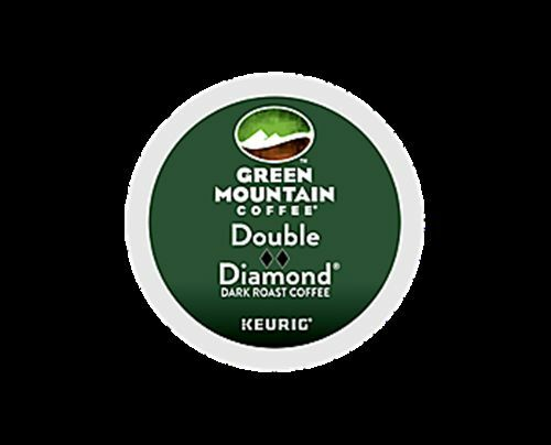 384 K-cups GREEN MOUNTAIN DOUBLE DIAMOND EXTRA BOLD COFFEE